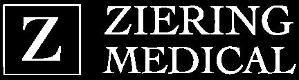 Ziering Medical White Logo