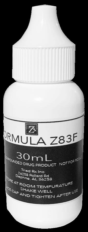 Formula Z83F Bottle